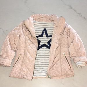 H&M coat and shirt